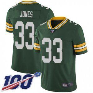Green Bay Packers Aaron Jones 100th Season Jersey